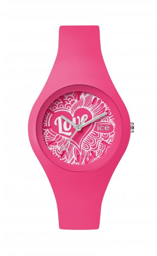 ICE WATCH ICE LOVE PINK DOODLE LO.PK.DO.S.S.16