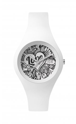 ICE WATCH ICE LOVE WHITE DOODLE LO.WE.DO.S.S.16