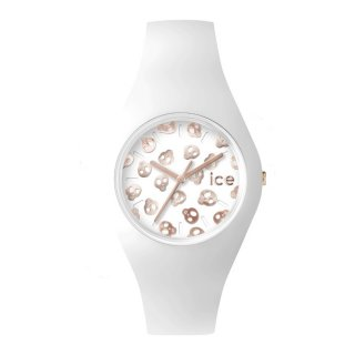 ICE WATCH ICE SKULL WHITE ROSE GOLD UNISEX ICE.SK.WRG.U.S.15