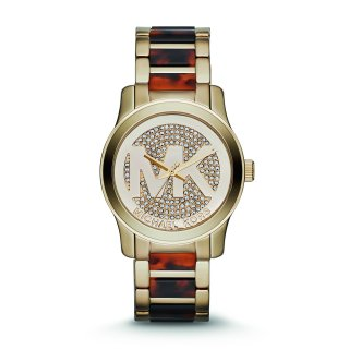 Hnedo zlate hodinky MICHAEL KORS MK5864