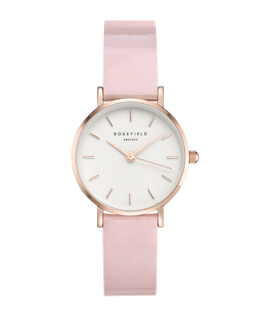 Hodinky ROSEFIELD Premium Gloss Pink Rose Gold