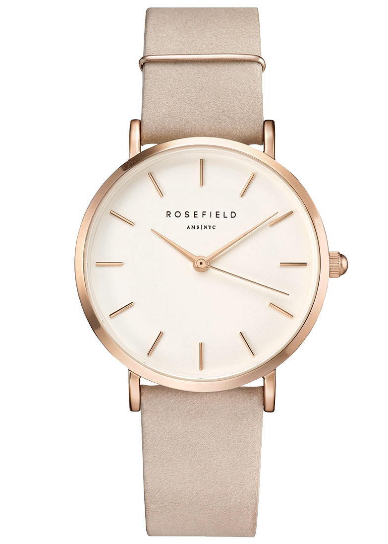Hodinky ROSEFIELD The West Village Soft Pink Rose Gold