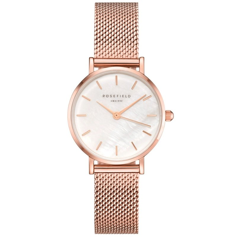 Hodinky ROSEFIELD The Small Edit White Rose Gold