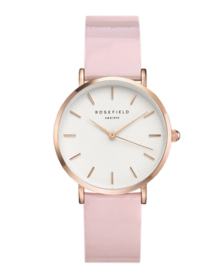SHPWR H37 Hodinky ROSEFIELD Premium Gloss Pink Rose Gold