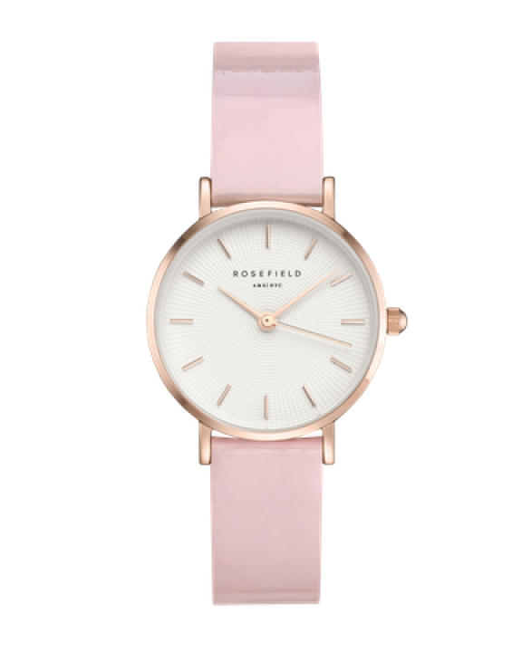 SHPWR H32 Hodinky ROSEFIELD Premium Gloss Pink Rose Gold