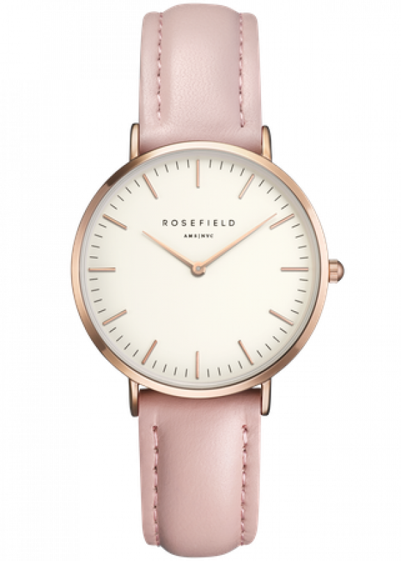 TWPR T58 Hodinky ROSEFIELD The Tribeca Pink Rose Gold