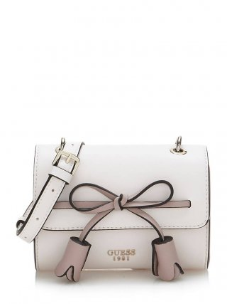 HWVG6964780 SHM GUESS LEILA MINI CROSSBODY FLAP