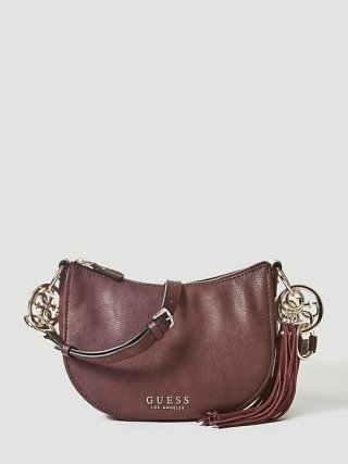 HWVG7094120 BUR Crossbody kabelka GUESS ALANA CROSSBODY TOP ZIP