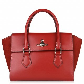 42020035 RED Kabelka do ruky VIVIENNE WESTWOOD MATILDA MEDIUM HANDBAG