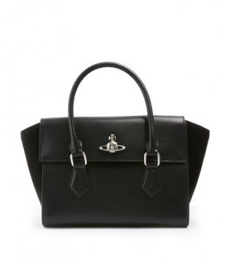 42020035 black Kabelka do ruky VIVIENNE WESTWOOD MATILDA MEDIUM HANDBAG