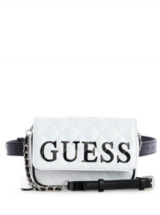 HWVL7187800 WML advinka GUESS CALIFORNIA DREAM CONVERTIBLE CROSSBODY BELT BAG