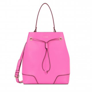 942377FUCSIA FURLA STACY M DRAWSTRING