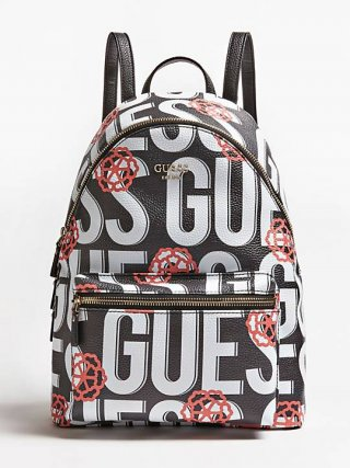 HWAD4557330 GUE Ruksak GUESS LEEZA LARGE BACKPACK
