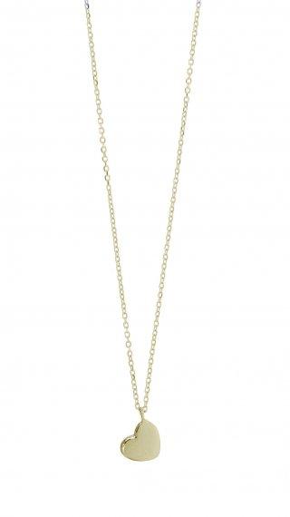 40544G Zlaty nahrdelnik GREGIO s priveskom v tvare srdiecka