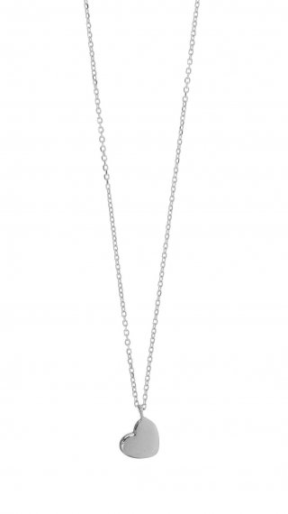 40544W Nahrdelnik GREGIO s priveskom v tvare srdiecka
