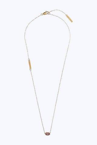 M0012267 710 Nahrdelnik MARC JACOBS s priveskom v tvare pier