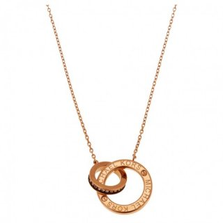 michael kors interlocking circle pendant mkj4680791