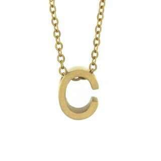 Zlaty nahrdelnik Mvintange s pismenom C