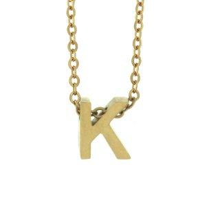 Zlaty nahrdelnik Mvintange s pismenom K
