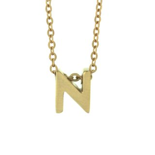 Zlaty nahrdelnik Mvintange s pismenom N