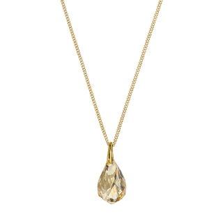 5195921 Nahrdelnik SWAROVSKI s kristalom v zlatistom odtieni