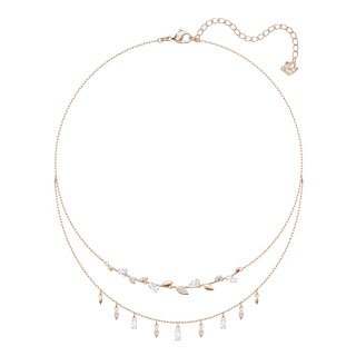 5410412 Nahrdelnik SWAROVSKI MAYFLY NECKLACE LAYERED