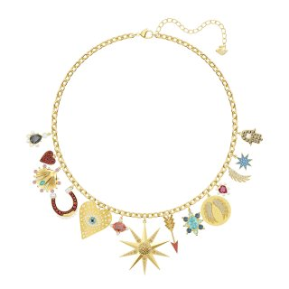 5451263 Nahrdelnik SWAROVSKI LUCKY GODDESS NECKLACE CHARMS LMUL