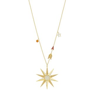 5461784 Nahrdelnik SWAROVSKI LUCKY GODDESS NECKLACE STAR LMUL