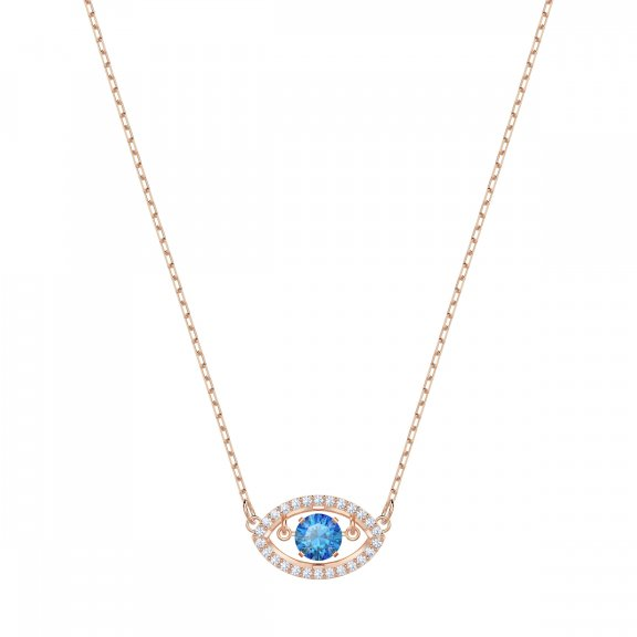 5448611 Nahrdelnik SWAROVSKI LUCKILY NECKLACE EVIL EYE DC