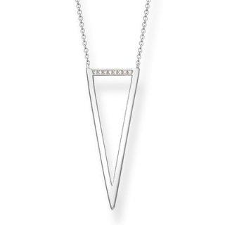 D KE0008 725 14 Nahrdelnik THOMAS SABO s priveskom v tvare trojuholnika3