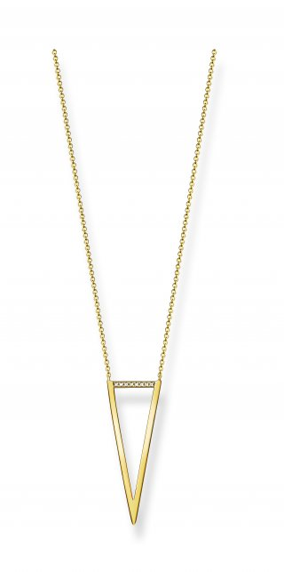 D KE0008 924 14 Zlaty nahrdelnik THOMAS SABO s diamantmi2