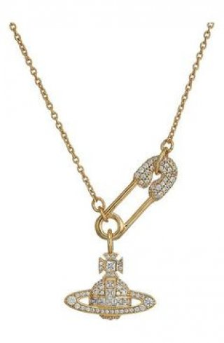 BN623830 2CZW Nahrdelnik VIVIENNE WESTWOOD CLOTILDE SMALL NECKLACE
