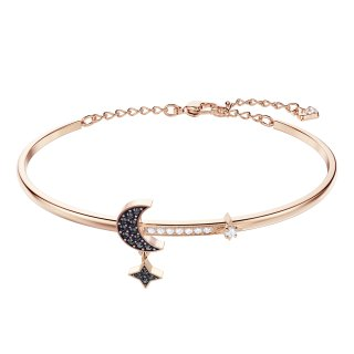 5429729 Naramok SWAROVSKI DUO MOON BANGLE MEDIUM