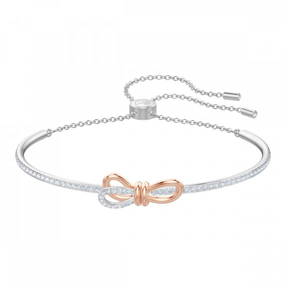 5447079 Naramok SWAROVSKI LIFELONG BOW BANGLE CRY