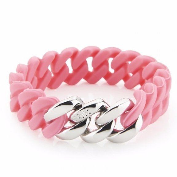 100063SORB SIL Naramok THE RUBZ MINI BRACELET