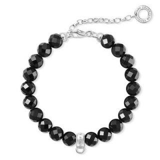 X0226 840 11 Naramok THOMAS SABO z obsidianu