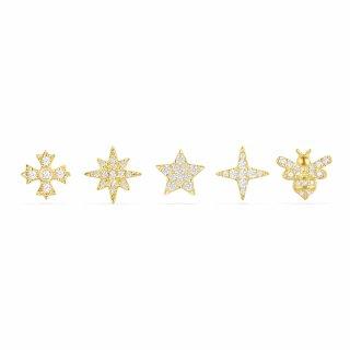 AE10732OXY Nausnice APM MONACO Yellow Mix Match Stud Earrings Set