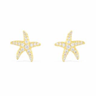 AE9546OXY Nausnice APM MONACO Yellow Seastar
