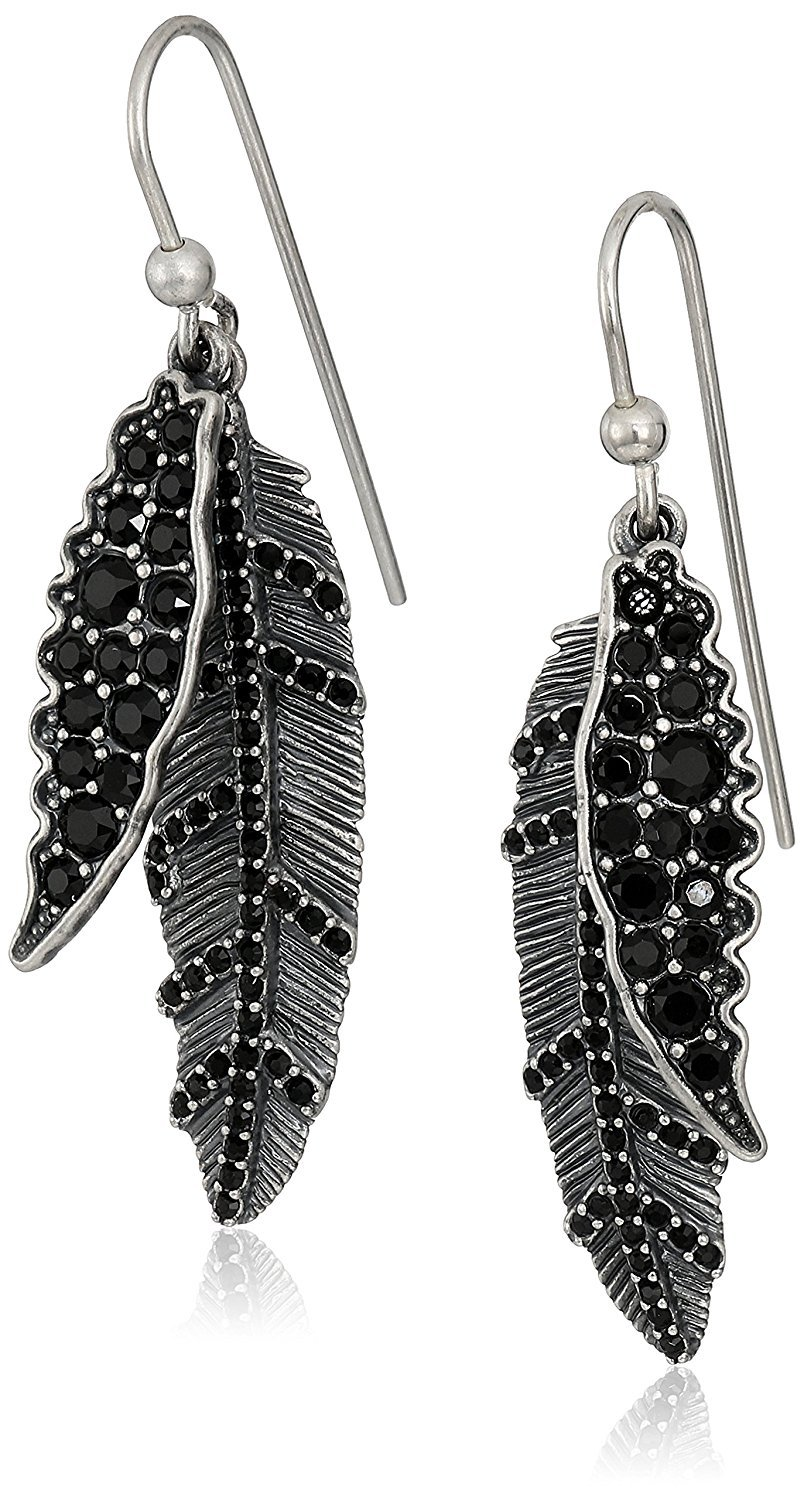 Náušnice MARC JACOBS DARK PLUMS DROP EARRINGS