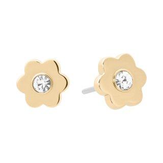 MKJ7160710 Zlati nausnice MICHAEL KORS v tvare kvetiny