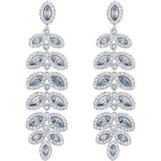 5074350 Nausnice SWAROVSKI s modrymi kristalmi
