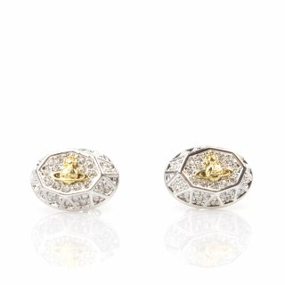 724611B 3CRY Nausnice VIVIENNE WESTWOOD LILIANA EARRINGS