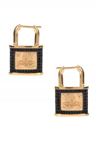 BE622994 Nausnice VIVIENNE WESTWODO DARIANNE PADLOCK EARRINGS