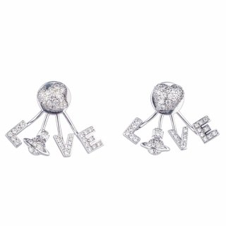 BE623245 Nausnice VIVIENNE WESTWOOD AGATHA EARRINGS
