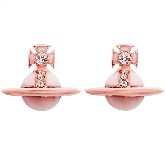 BE1106 4GQP Nausnice VIVIENNE WESTWOOD ION STUD EARRINGS