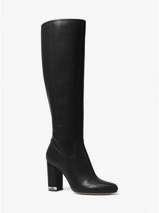40F8WKHB5L 0001 Cizmy MICHAEL KORS WALKER BOOT