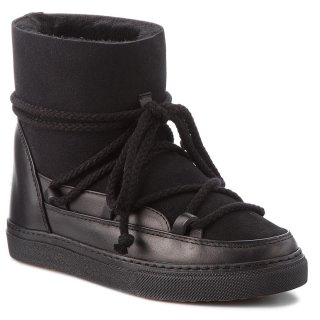 70203 5 W Black Cizmy INUIKII WOMEN SNEAKERS CLASSIC WEDGE