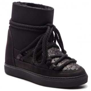 70203 7 W Black Cizmy INUIKII WOMEN SNEAKERS SEQUIN