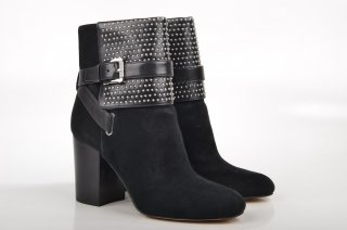 40F4KRME6S 001 Clenkove cizmy MICHAEL KORS KRISTA ANKLE BOOT