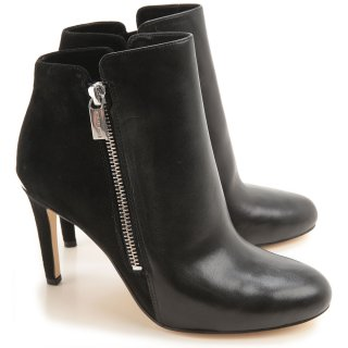40F5CLHE6L 001 Clenkove cizmy MICHAEL KORS CLARA ANKLE BOOT